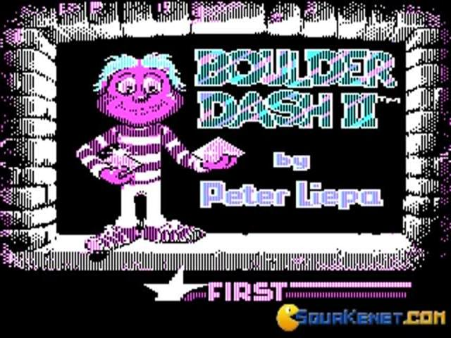 Boulder Dash 2 - game cover