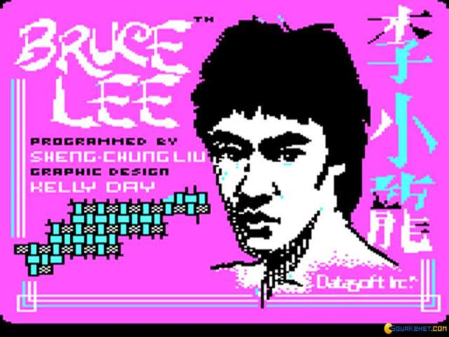 Bruce Lee - title cover