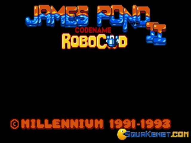 James Pond 2 - Codename Robocod - title cover