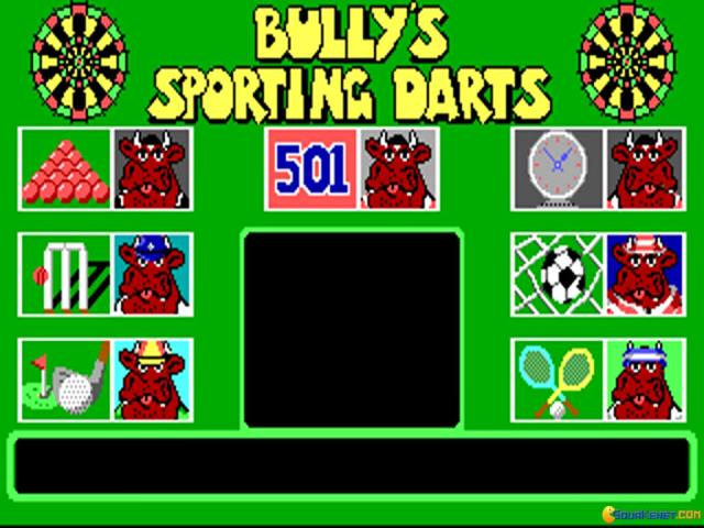 Bully's Sporting Darts - game cover