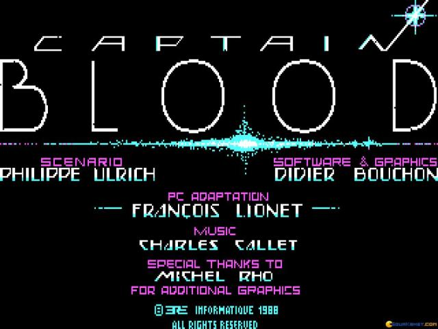 Captain Blood - title cover