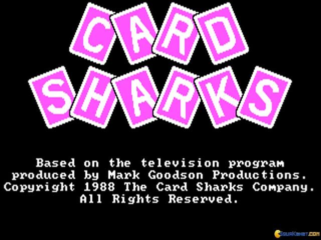 Card Sharks - title cover