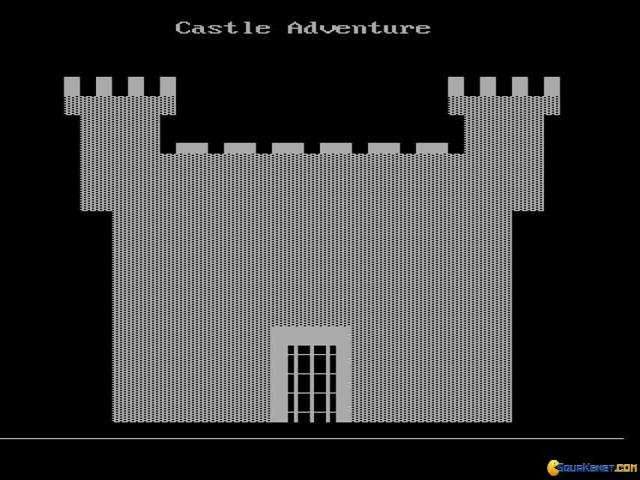 Castle Adventure - title cover