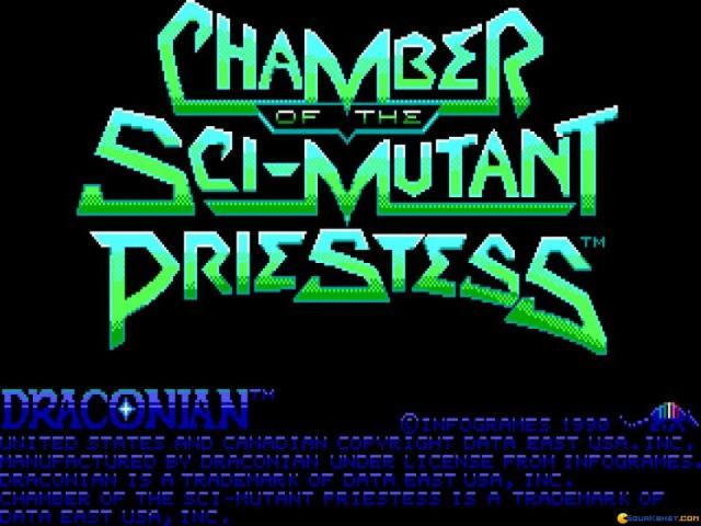 Chamber of the Sci-Mutant Priestess - title cover