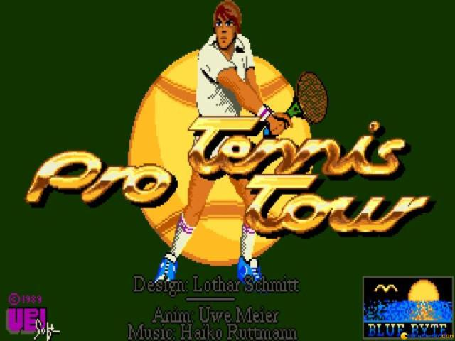 Jimmi Connors Pro Tennis Tour - title cover
