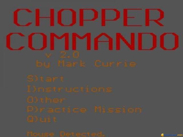 Chopper Commando - game cover