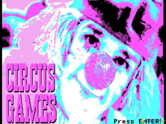Circus Games - title cover