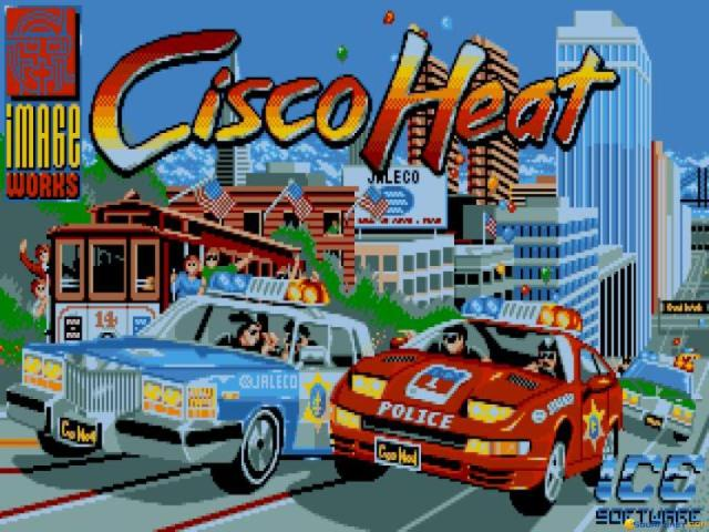 Cisco Heat - game cover
