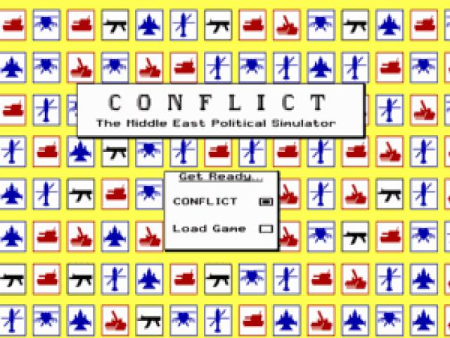 Conflict - The Middle East Political Simulator - title cover