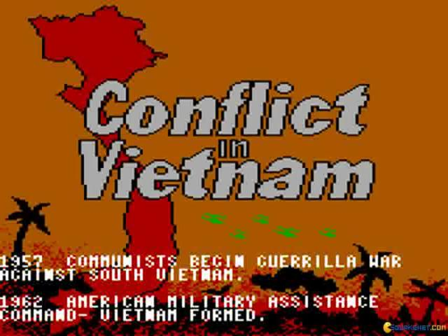 Conflict in Vietnam - title cover