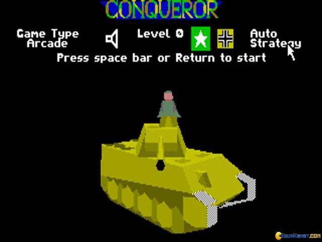 Conqueror - title cover