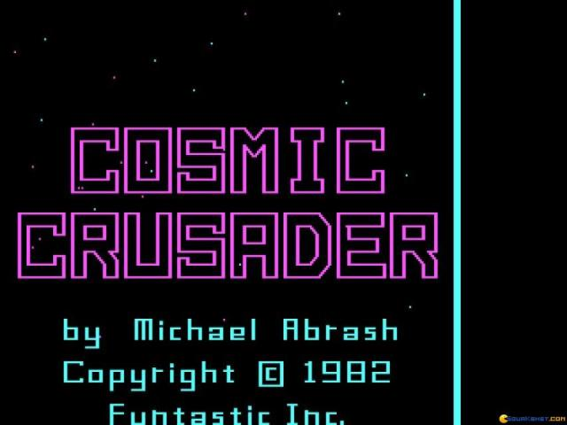 Cosmic Crusader - title cover
