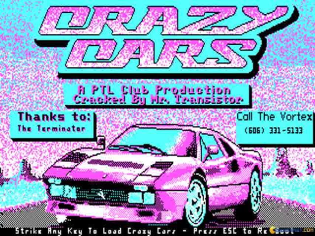 Crazy Cars - title cover