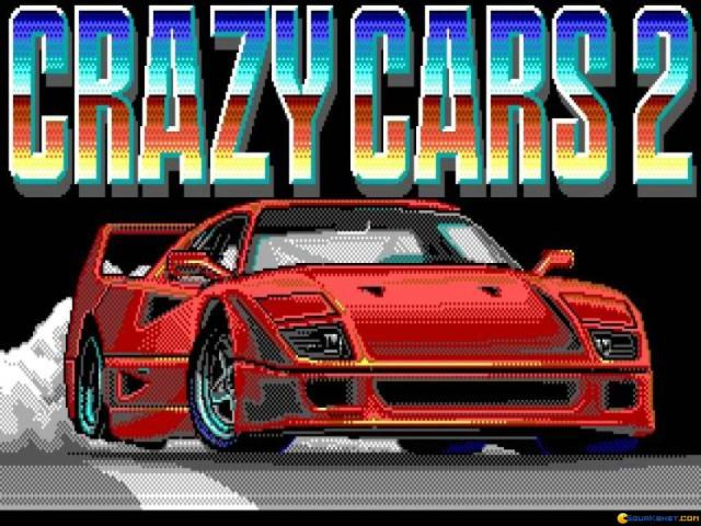 Crazy Cars 2 - game cover