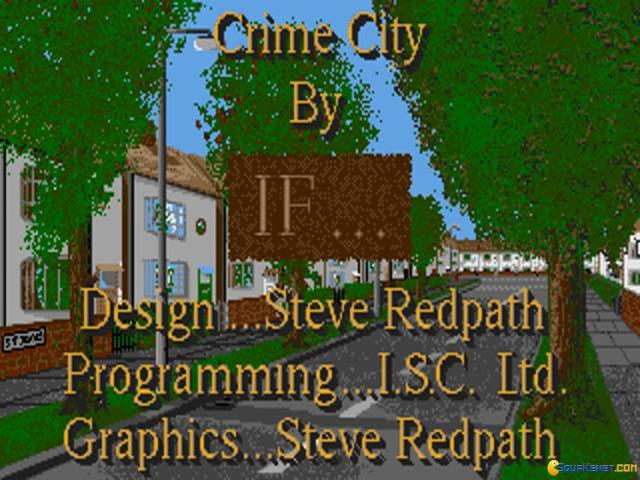 Crime City - title cover
