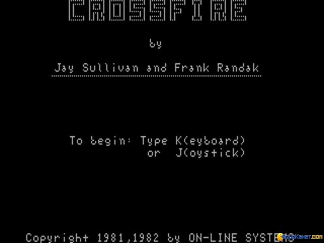 Crossfire - title cover