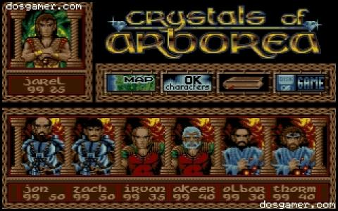 Crystal of Arborea - title cover