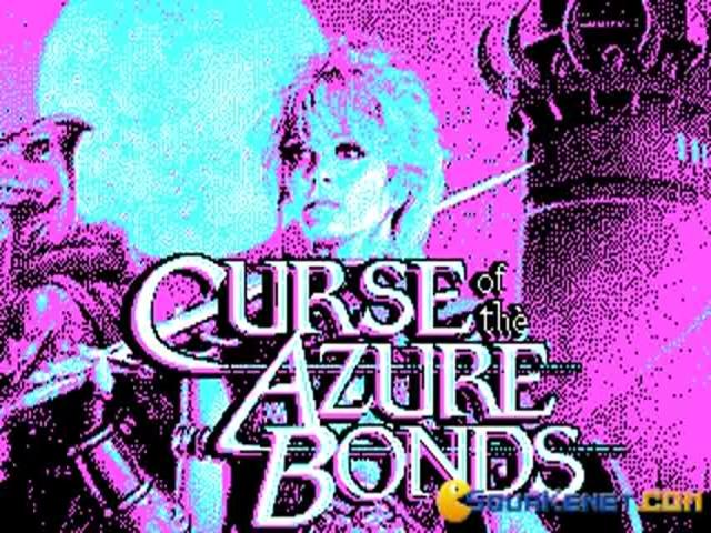 Curse of the Azure Bonds - title cover