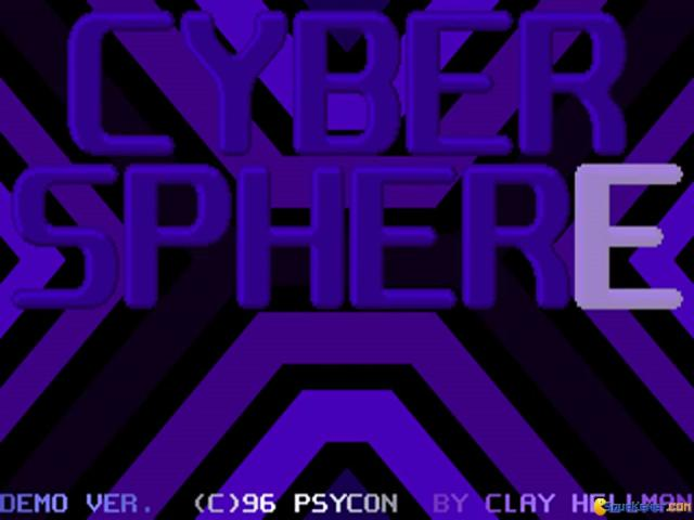 Cyber Sphere - title cover