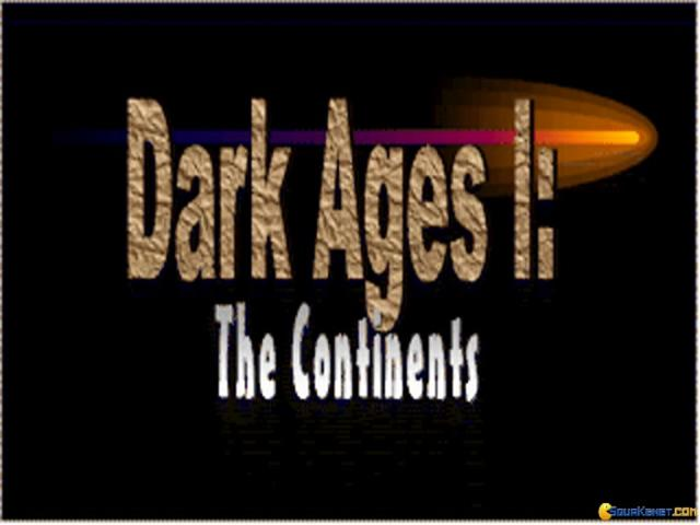 Dark Ages 1 - The Continents - title cover