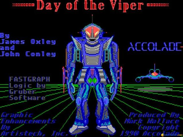Day Of The Viper - title cover