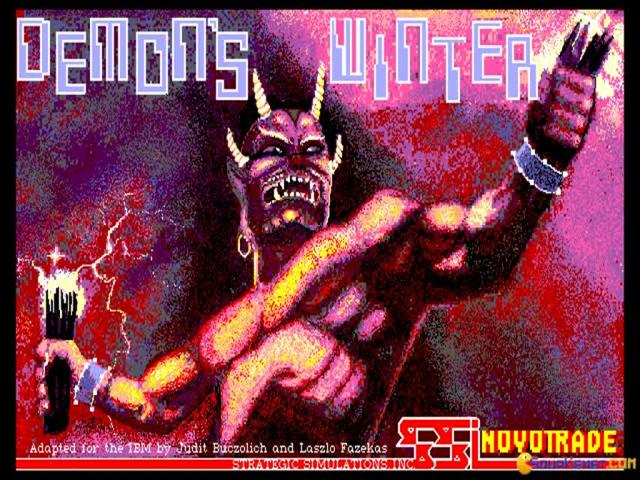 Demons Winter - title cover
