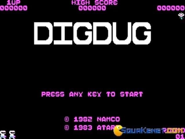 DigDug - game cover