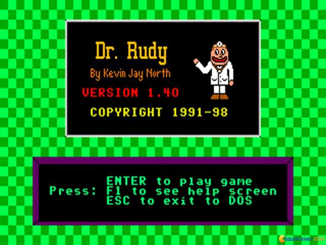 Dr. Rudy - title cover