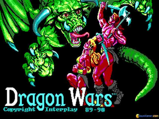 Dragon Wars - game cover