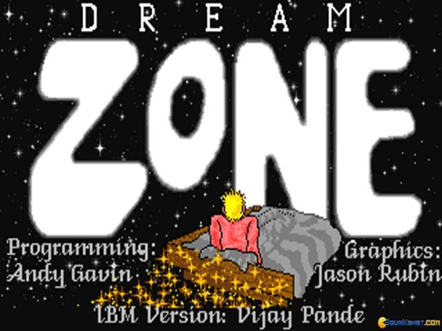 Dream Zone - game cover