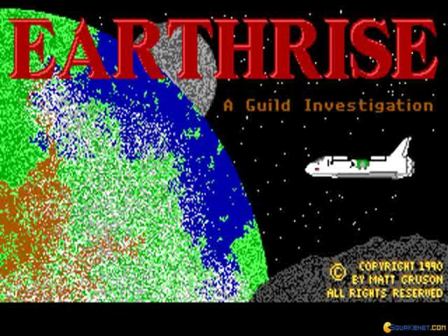 Earthrise - title cover