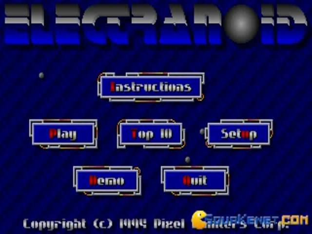 Electranoid - game cover