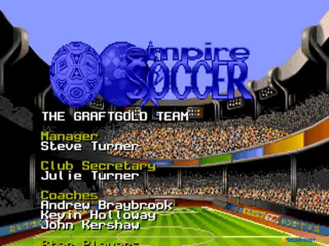 Empire Soccer - title cover