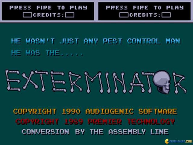 Exterminator - game cover