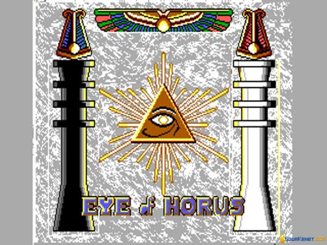 Eye of Horus - title cover