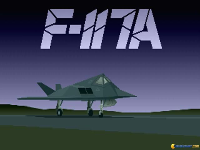 F117 A - Stealth Fighter 2 - game cover