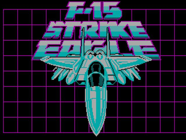 F15 Strike Eagle - game cover