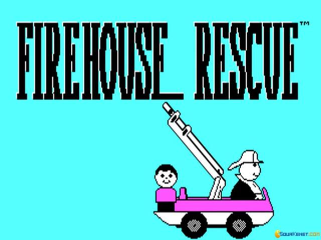 Firehouse Rescue - title cover