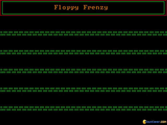Floppy Frenzy - title cover