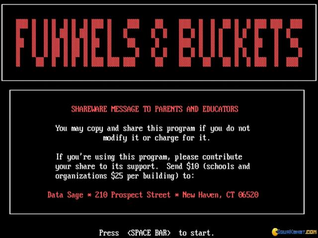 Funnels & Buckets - game cover