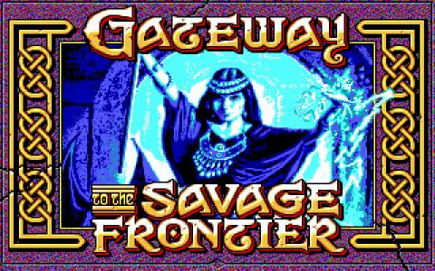 Gateway to the Savage Frontier - title cover