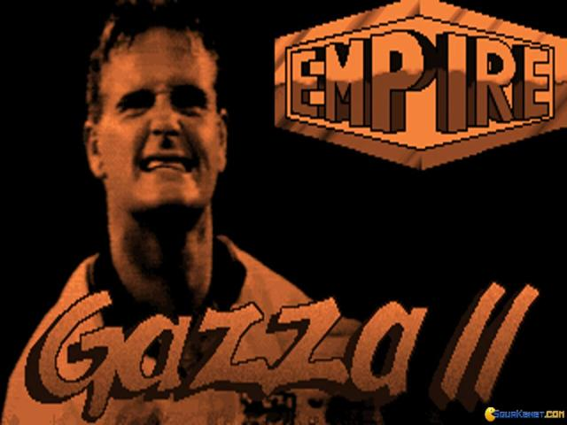 Gazza II - game cover