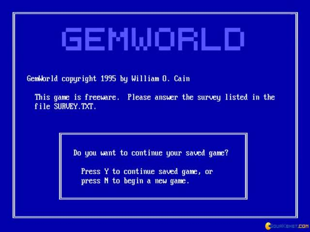 GemWorld - game cover