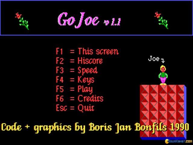 GoJoe - title cover