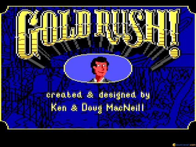 Gold Rush - game cover