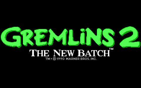 Gremlins 2 - title cover