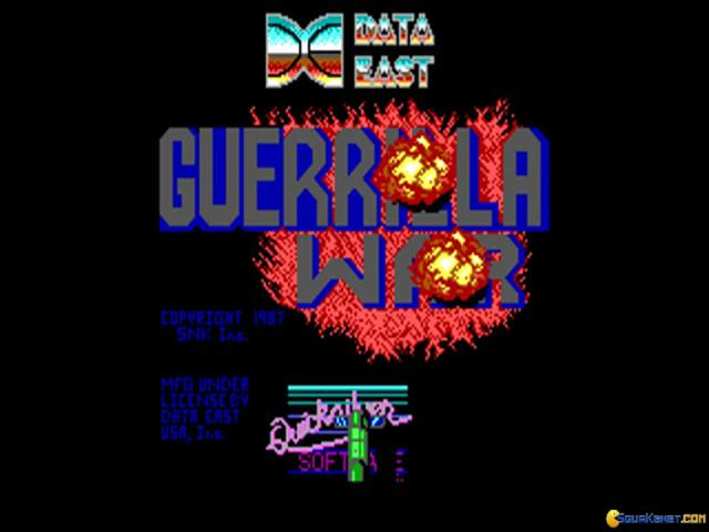 Guerilla War - title cover