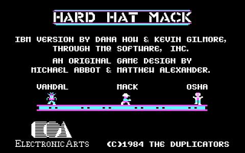 Hard Hat Mack - title cover