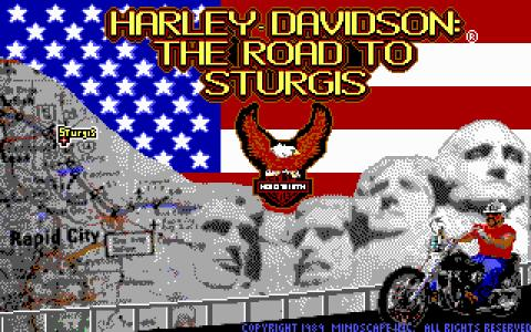 Harley-Davidson: Road To Sturgis - game cover
