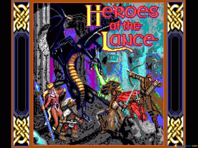 Heroes of the Lance - title cover